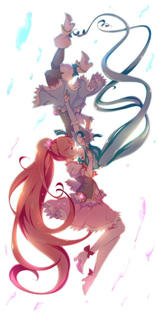 Cure Lovely & Cure Princess by senba hikari