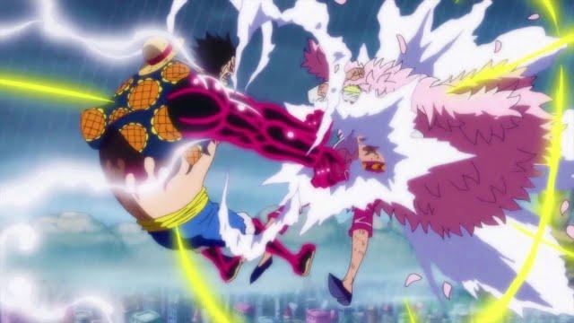 Luffy vs Doflamingo