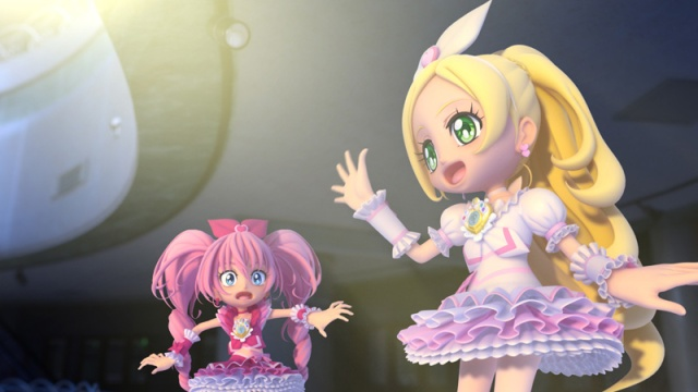 All Stars DX 3D Theatre Cure Melody & Cure Rhythm Dolls