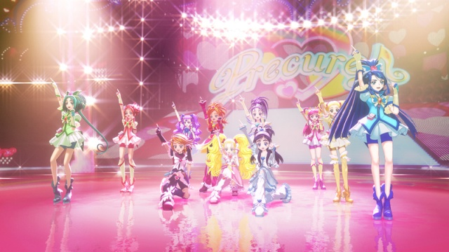 All Stars DX 3D Theatre Max Heart, Splash Star and GoGo Cures