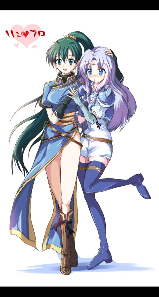 Lyn & Florina by echizen (hvcv)