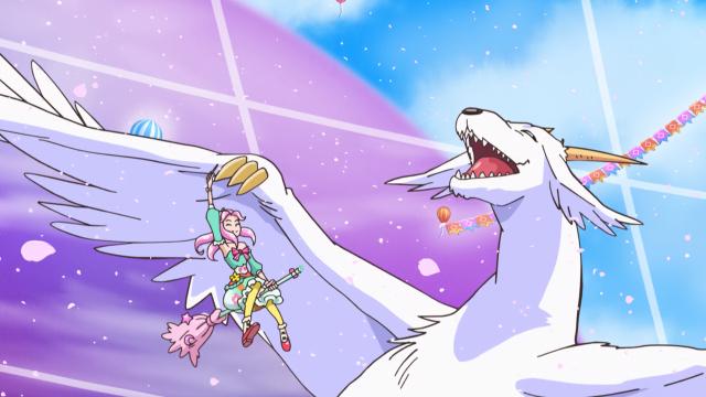 Kotoha & Flare Dragon