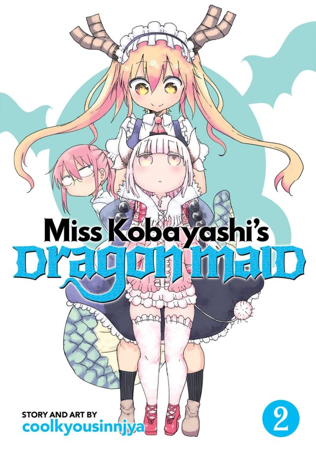 Miss Kobayashi's Dragon Maid Volume 2