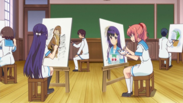 Image result for anime art class