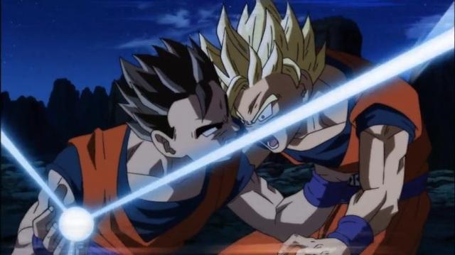 DBS - Gohan vs Goku