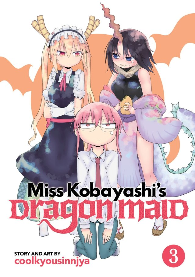 Miss Kobayashi's Dragon Maid Volume 3
