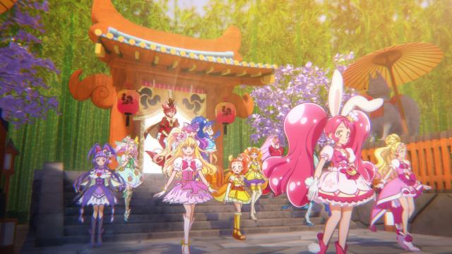 Arrival at Sakuragahara Shrine