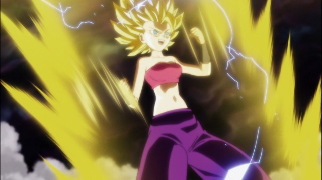 Super Saiyan 2 Caulifla