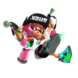 Inkling girl with dualies