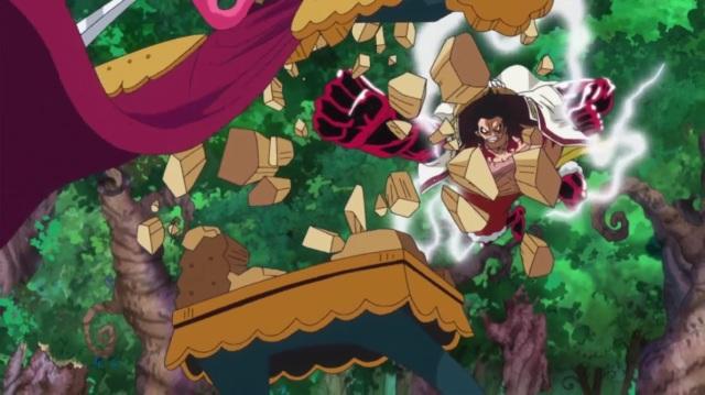 OP - Luffy vs Cracker