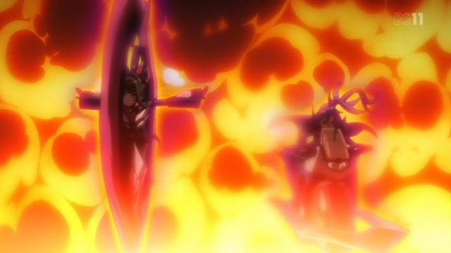 Ignited Shirabe and Tsubasa