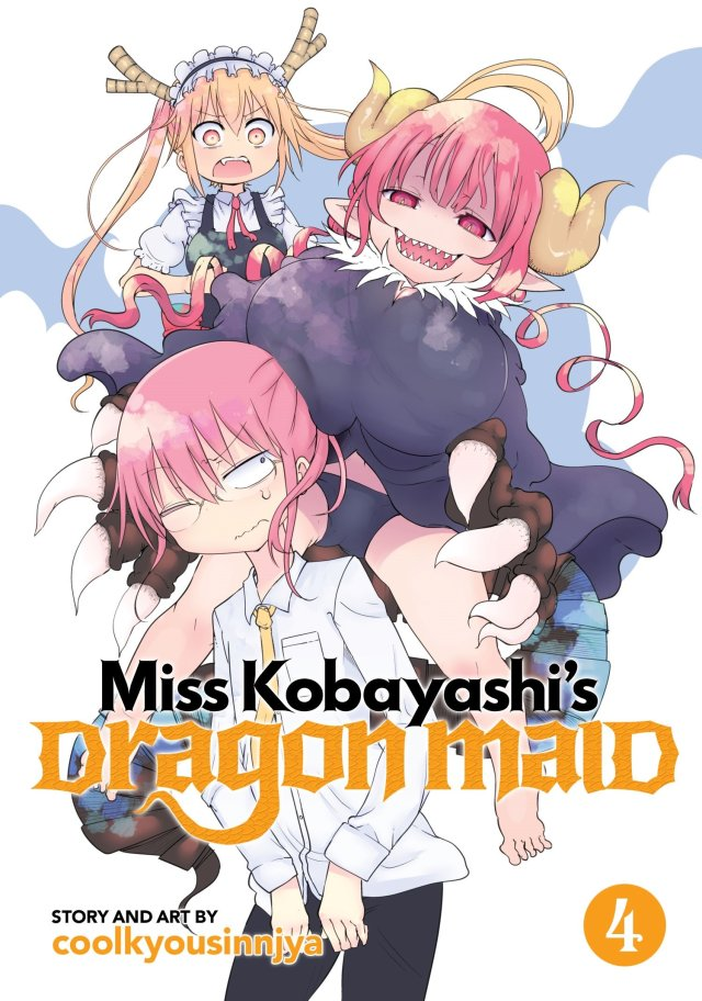 Miss Kobayashi's Dragon Maid Volume 4