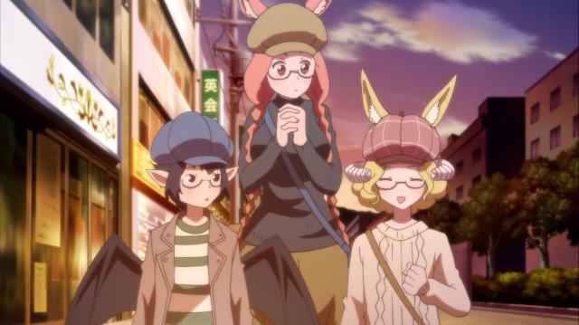 Nozomi, Hime and Kyoko