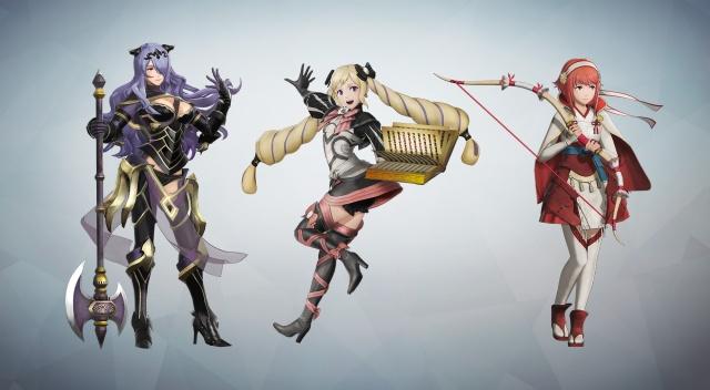 Camilla, Elise and Sakura