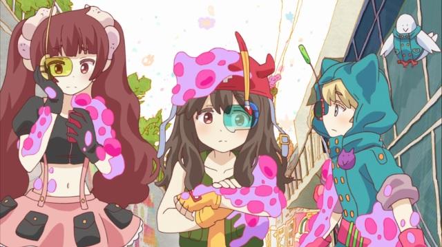 Mari, Rito and Kotoko