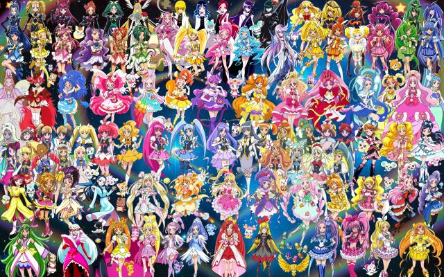 102_Pretty_Cure_Warriors_with_Fairies