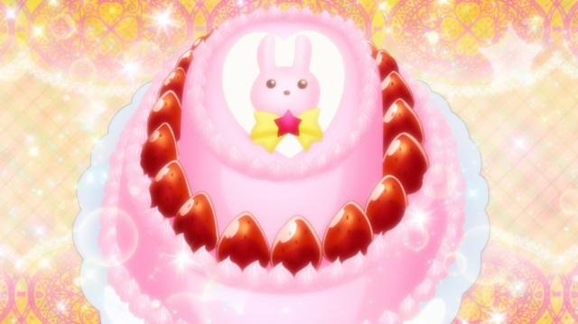 Bunny heart cake