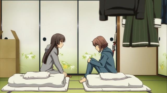 Hiyori asking Kanami questions