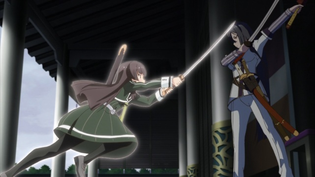 Hiyori attacks Yukari
