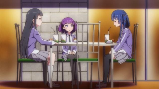 Shizuka, Ariko and Hazuki