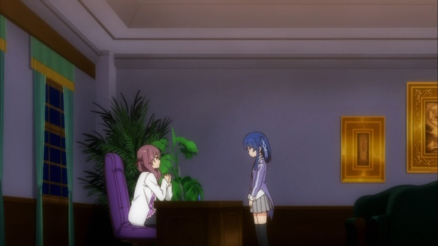 Headmistress and Hazuki