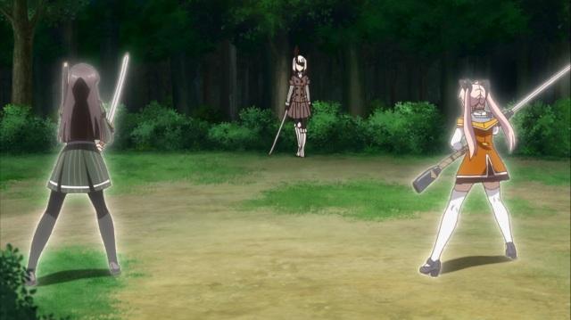 Hiyori and Kaoru confront Yomi