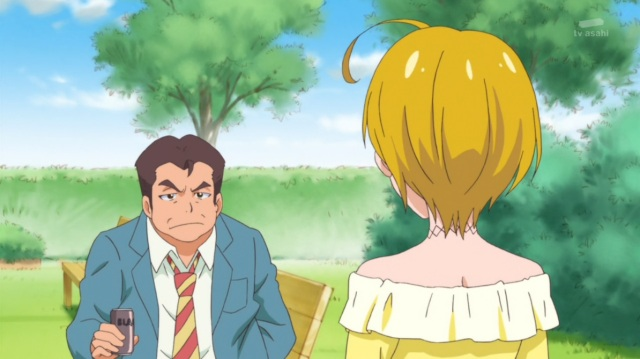 Homare confronts angry old man
