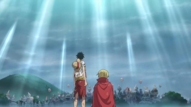 OP - Luffy and Sanji