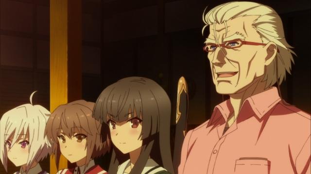 Sayaka, Kanami, Hiyori and Richard