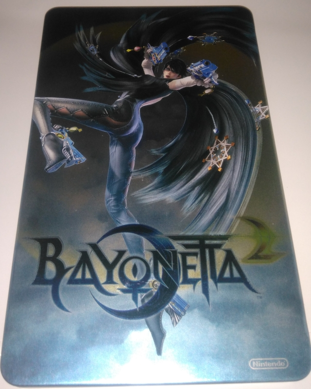 Steelbook Bayonetta 2 side