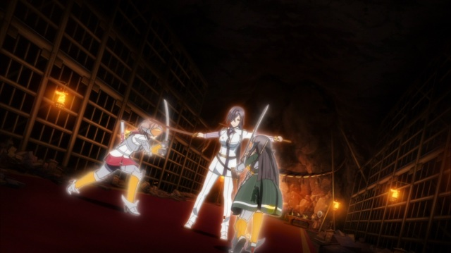 Kanami and Hiyori vs Yukari