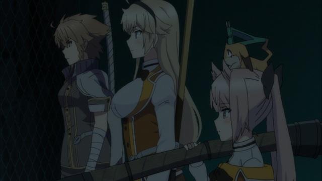 Maki, Ellen, Nene and Kaoru