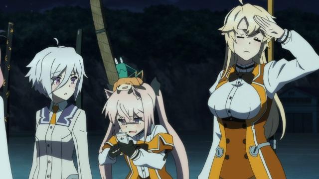 Sayaka, Kaoru and Ellen