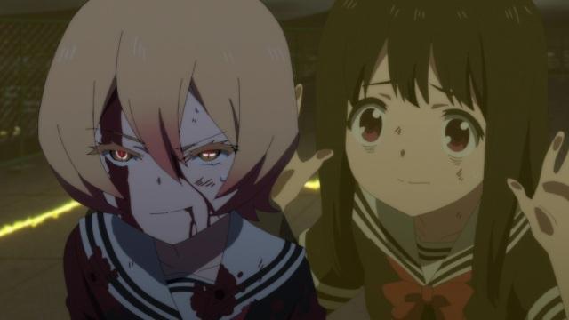 Tsuyuno and Aya