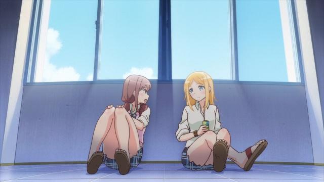 Haruka talks to Claire