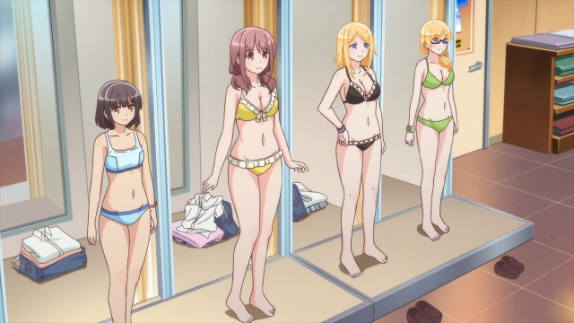 Swimsuit shopping