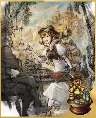 Tressa the Merchant