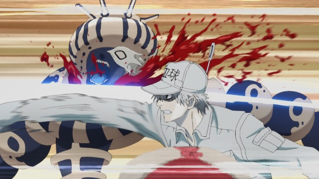 White Blood Cell attacks