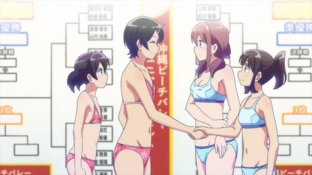 Ai, Mai, Haruka and Kanata