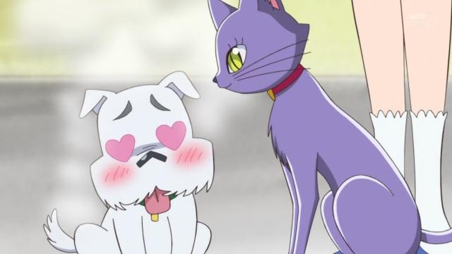 Mogumogu and Lily
