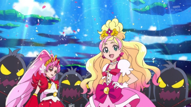 Cure Scarlet & Cure Flora