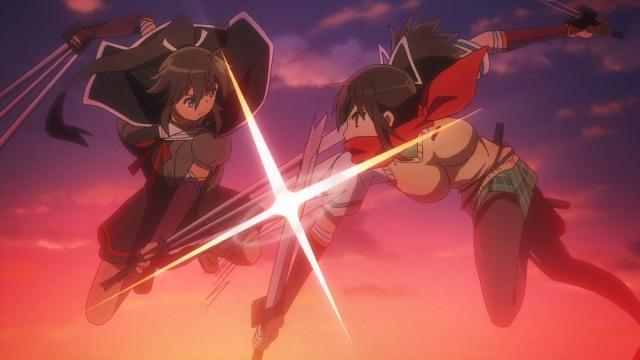 Homura vs Asuka