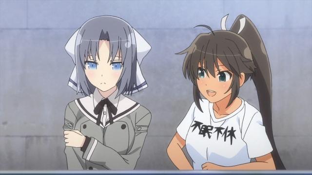 Yumi and Homura