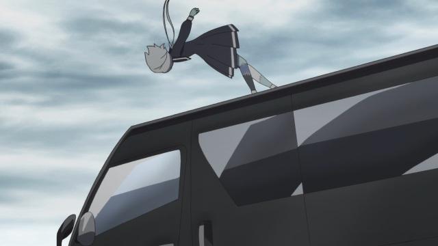 Junko hit by van