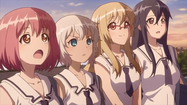 Momo, Theresia, Hatsume and Goe