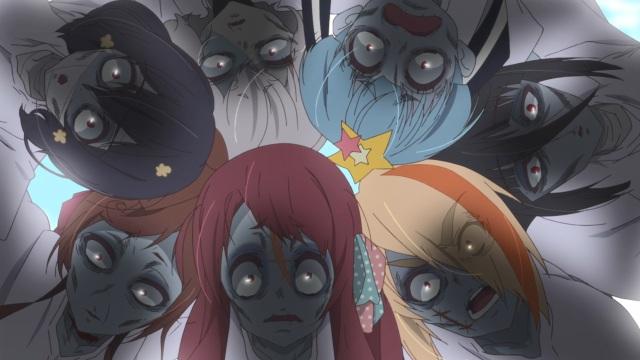 Zombie huddle