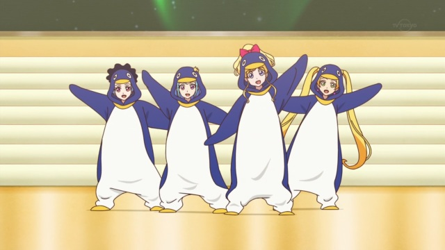 Penguin Cheer Squad