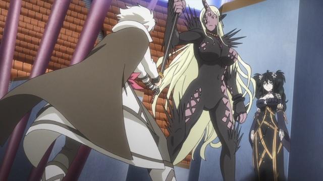 Miyabi, Rasetsu and Fubuki