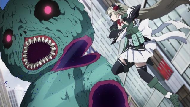 asuka arrives