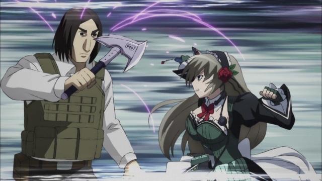 Asuka vs Magical Mercenaries